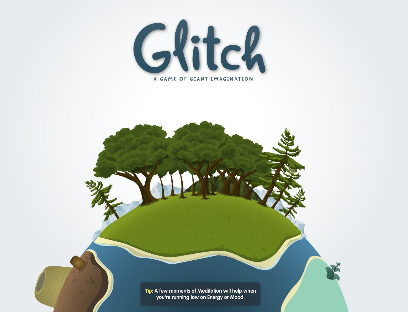 Bored during lunch time? Need a game? Try Glitch