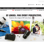 Canon's One-stop E-commerce Platform