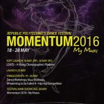 Republic Polytechnic's Dance Festival, MOMENTUM 2016  – 18 to 28 May 2016