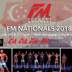 FITNESS MOVEMENT NATIONALS For It's Sixth Year At The NUS University Cultural Centre.